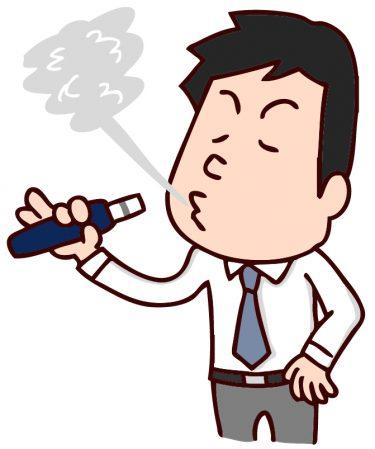 【男性の喫煙で加熱式の電子タバコと火をつける紙巻きタバコはカラダに影響するのか?】
