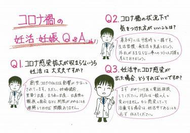 【コロナ禍の妊活・妊娠 Q&A】