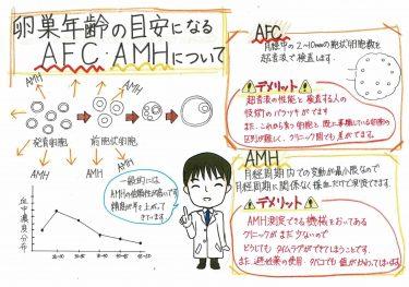 【卵巣予備能(AFC、AMH)のメリット・デメリット】