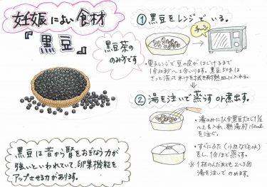 【妊娠に良い食材 「黒豆」】